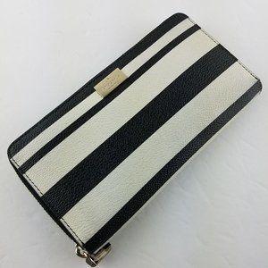 Kate Spade Bonbon Stripe Neda Arbour Hill Wallet